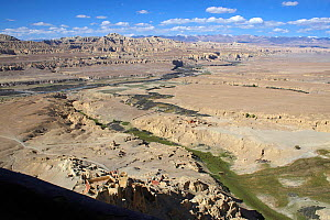 Tsaparang (sometimes known as the mythical Shangri-la) was the capital of the ancient kingdom of Guge in the Garuda Valley, Ngari Prefecture, Western Tibet. Tsaparang is a huge fortress perched on a p...  -  Ben Lascelles