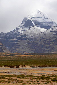 Mount Kailash is a peak in the Kailas Range (Gangdise Mountains), which are part of the Transhimalaya in Tibet. It lies near the source of some of the longest rivers in Asia: the Indus River, the Sutl...  -  Ben Lascelles