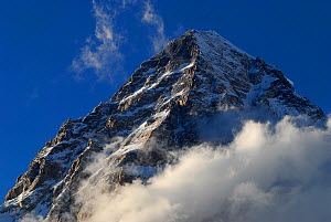 View looking up to the summit of K2 (8,611m), Central Karakoram National Park, Pakistan, June 2007 - Enrique Lopez-Tapia