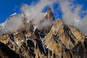 View of Trango Towers (6,286m), Central Karakoram National Park, Pakistan, July 2007. - Enrique Lopez-Tapia,Enrique Lopez-Tapia
