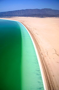 Lake Assal shoreline -  Africas lowest point at 515 feet below sea level, Djibouti, , March 2008  -  Michael Pitts