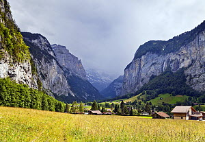 Lauterbrunnen Valley, Bernese Oberland, Switzerland, June 2012. - Merryn Thomas