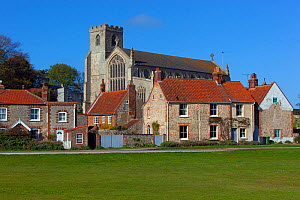 Cley Village Green and Church, North Norfolk, May 2013 - Ernie  Janes