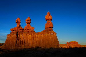 Sandstone formations in Goblin Valley State Park, Utah, USA November 2012 - Jouan Rius