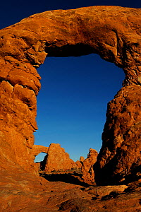 Turret Arch and North Window, Arches National Park, Utah, USA November 2012 - Jouan Rius