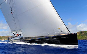 Antigua Superyacht Challenge 2013, 'P2'. All non-editorial uses must be cleared individually.  -  Rick  Tomlinson