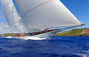 Antigua Superyacht Challenge 2013. All non-editorial uses must be cleared individually.  -  Rick  Tomlinson