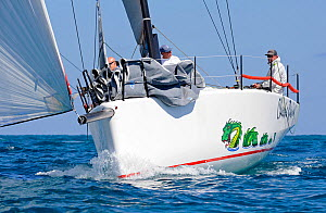 Day 1 of the Gaastra TP52 World Championships, Miami. March 5th 2013. 'Farr400' Chessie Racing, 2 races sailed. All non-editorial uses must be cleared individually.  -  Rick  Tomlinson