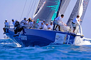 Day 4 of the Gaastra TP52 World Championships, TP52 'Azzurra', 3 races sailed. Miami, March 8th 2013. All non-editorial uses must be cleared individually.  -  Rick  Tomlinson