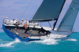 Day 5, final day, of the Gaastra TP52 World Championships, TP52 'Azzurra', 3 races sailed. RAN wins overall. Miami, March 9th 2013. All non-editorial uses must be cleared individually.  -  Rick  Tomlinson