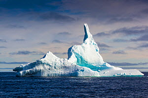 Iceberg, Spitzbergen, Norway, June, 2012. - Christophe Courteau