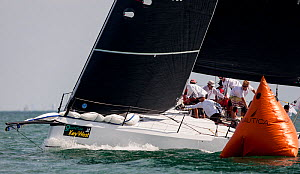 'Quantum' TP52 sail boat racing in Key West Race Week 2013, Florida. All non-editorial uses must be cleared individually. - Onne van der Wal