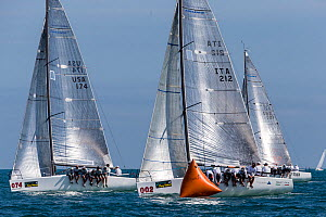 Boats racing in Key West Race Week 2013, Florida. All non-editorial uses must be cleared individually. - Onne van der Wal