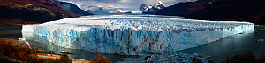 Panoramic view of the Perito Moreno Glacier, Patagonia, Argentina. April 2013. - Hougaard Malan