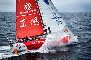 The Donfeng Race Team, Volvo Ocean Race 2014, August. All non-editorial uses must be cleared individually. - Benoit  Stichelbaut