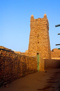 Ancient mosque, Chinguetti, Mauritania, 2005.  -  Steve O. Taylor (GHF)