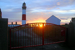 Sunrise at Buchan Ness Lighthouse, north-east Scotland, January 2014. All non-editorial uses must be cleared individually. - Philip  Stephen