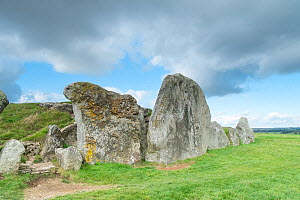 West Kennet Long Barrow, Wiltshire, UK, October 2014. - Gary  K. Smith