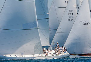 'Il Moro di Venezia' at the start of the Panerai Classic Yacht Challenge, Argentario Sailing Week 2013. Porto Santo Stefano, Italy, 16th June 2013. All non-editorial uses must be cleared individually. - Sea  & See