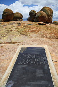 Worlds view, the grave of Leander Starr Jameson, Zimbabwe. January 2011.  -  Steve O. Taylor (GHF)