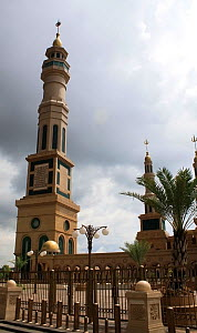 Central Mosque, Balipapan, East Kalimantan, Borneo. June 2010.  -  Steve O. Taylor (GHF)
