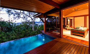 Accommodation at the Qualia resort on Hamilton Island, Queensland, Australia. November 2012.  -  Onne  van der Wal