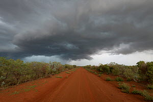 Tablelands Highway in the outback, Northern Territory, Australia. January 2013 - Jurgen Freund