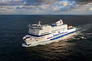The 'Armorique' Brittany Ferry, Le Havre, 8th November, 2009. All non-editorial uses must be cleared individually.  -  Benoit  Stichelbaut