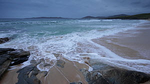 Waves breaking at Seilebost, Harris, Outer Hebrides, Scotland, UK, September 2014,  -  SCOTLAND: The Big Picture