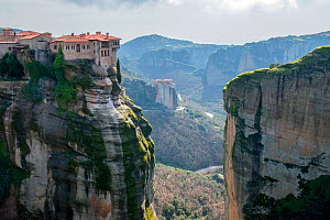 The Holy Monastery of Varlaam. This is the second largest monastery in the Meteora complex. It was built in 1541 and embellished in 1548. The old refectory is used as a museum. It is among the 6 out o...  -  Constantinos Petrinos