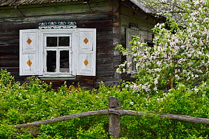 House in Musteika Village, Lithuania, May 2015.  -  Staffan Widstrand