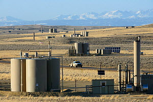 Jonah natural gas field south of Pinedale, Wyoming.  -  Gerrit  Vyn