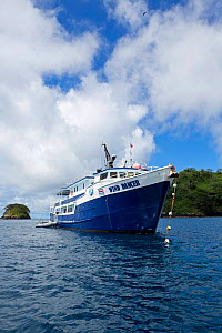 Wind Dancer, luxury liveaboard boat, Cocos Island National Park, Costa Rica, East Pacific Ocean. September 2012. - Franco  Banfi