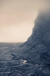 Bealach na Ba Pass, Wester Ross, Scotland, UK, November 2015.  -  Niall Benvie