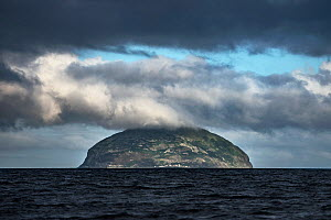 Ailsa Craig Island, Firth of Clyde, Scotland, UK. August 2015. - Sam Hobson
