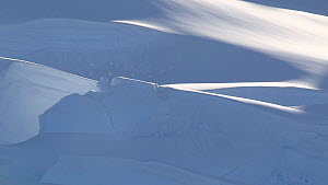 Close up of a glacier, Lemaire Channel, Antarctic Peninsula  -  Fred  Olivier