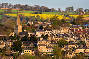 Village of Painswick - 'the Queen of the Cotswolds' - Gloucestershire, UK. April 2015.  -  Nick Turner