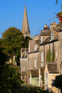 The Cotswolds village of Bisley, Gloucestershire, UK. October 2015.  -  Nick Turner