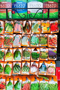 Vegetable  seeds in packets,  for sale in Venice, Italy  -  Gary  K. Smith