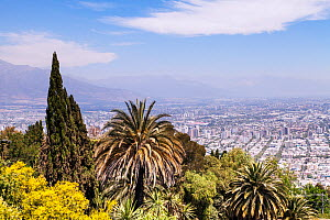 Santiago,  the capital and largest city of Chile. December 2013.  -  Merryn  Thomas