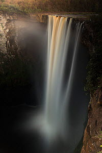 Kaieteur Falls is the world's widest single drop waterfall, located on the Potaro river in the Kaieteur National Park, in Essequibo, Guyana, South America - Pete Oxford