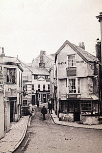 Photograph of The Fossil Depot taken around 1895 in Lyme Regis, known as  Anning's Fossil Depot, while Mary Anning still owned it.  Mary Anning was one of the most influential women in science and dis...  -  Paul  D Stewart