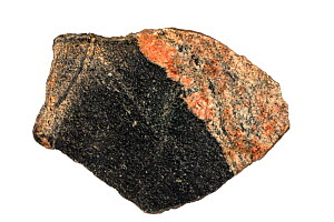 Acasta Gneiss, the oldest rock in the world,ia tonalite gneiss in the Slave Craton,  Northwest Territories, Canada. - John Cancalosi