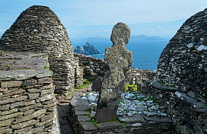 Monastery on Skellig Michael, Skellig Islands World Heritage Site, County Kerry, Ireland, Europe. September 2015. - Juan  Carlos Munoz