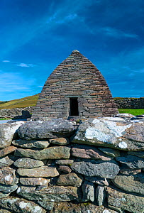 Gallarus Oratory, Dingle Village, Dingle Peninsula, County Kerry, Ireland, Europe. September 2016.  -  Juan  Carlos Munoz
