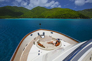 Watershed, 87-foot President Yacht, Saint John, U.S. Virgin Islands, May 2012.  -  Billy  Black