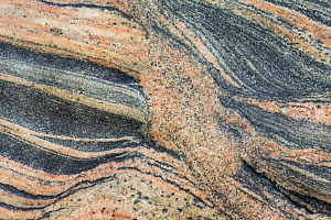 Patterns in Lewisian gneiss rock, North Harris, Outer Hebrides, Scotland, UK.  -  SCOTLAND: The Big Picture