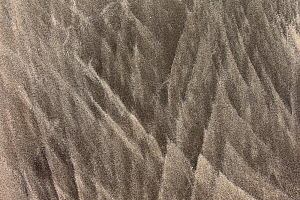 Sand patterns on beach, Isle of Eigg, Outer Hebrides, Scotland, UK. - SCOTLAND: The Big Picture