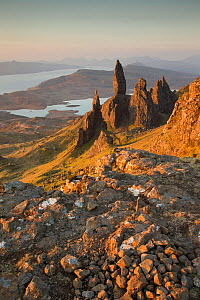 Old Mann of Storr at dawn, Isle of Skye, Inner Hebrides, Scotland, UK, April 2014. - SCOTLAND: The Big Picture
