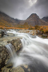 Waterfalls at Fairy Pools, Glen Brittle, Isle of Skye, Inner Hebrides, Scotland, UK, October 2013. - SCOTLAND: The Big Picture